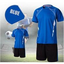 Los hombres de secado rápido entrenamiento de fútbol survetement fútbol  niños fútbol en Equipo conjunto kits uniformes del fútbo. 41b4d3cc6c210