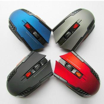 Mini ratón óptico inalámbrico para juegos, Mouse inalámbrico con receptor USB para Juegos de PC, portátiles, ordenador, r57, 2,4 GHz 5