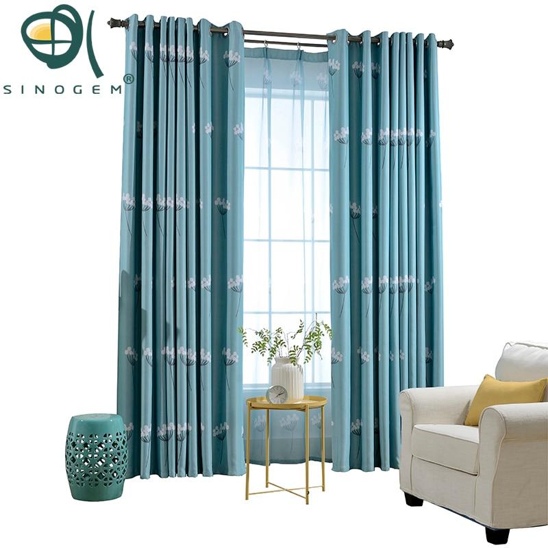 News Dandelion Design Curtain Tulle Window Curtain Living