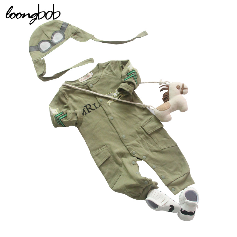 Infant Baby Boy Romper Astronaut Spacesuit Toddler Boys Hooded Jumpsuit Newborn Winter Clothes Pilot Costume With Booties baby boys clothes set 2pcs kids boy clothing set newborn infant gentleman overall romper tank suit toddler baby boys costume