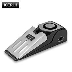 KERUI Door Stop Alarm 125db Door Block Vibration Alarm for Traveling Security Door Alarm Stopper Doorstop for Home Security