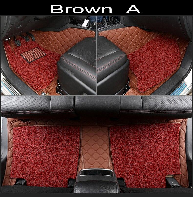 Tappetini auto per BMW 3/4/5/6/7 Serie GT M3 X3 X4 x5 X6 Z4 Impermeabile auto-styling di cuoio Anti-slip tappeto fodereTappetini auto per BMW 3/4/5/6/7 Serie GT M3 X3 X4 x5 X6 Z4 Impermeabile auto-styling di cuoio Anti-slip tappeto fodere