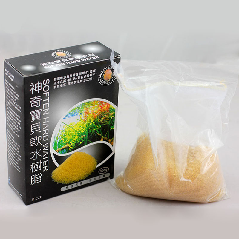 300g Soften Hard Water Resin Repeatable Use Suitable Water