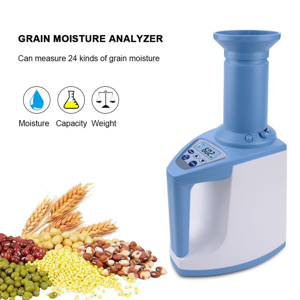 New LDS 1G High Precision Automatic Digital Grain Corn Rice Wheat Moisture Humidity Gauge Meter Tester Detector
