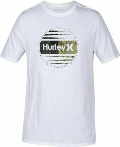 Hurley Men's Global Graphic-Print T-Shirt M-3XL US 100% cotton Men's trend 2019