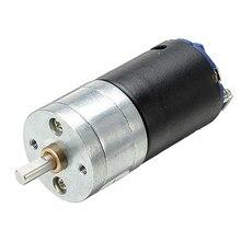 GM25-370 двигатель постоянного тока 6,0/12,0 в черный матовый двигатель 4 мм диаметр вала двигатель постоянного тока