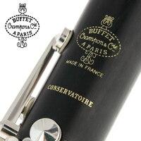 Буфет Crampon Paris Professional Bb кларнет CONSERVATOIRE буфет бакелит кларнет мундштук аксессуары чехол