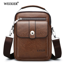 WEIXIER 2019 New PU Leather Messenger Fashion Casual Bag Arrival Vintage Designer Crossbody Travel High Quality