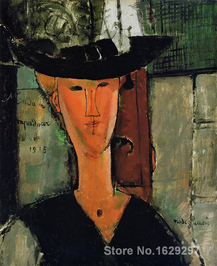 Madame Pompador Amedeo Modigliani painting for sale Hand painted High quality