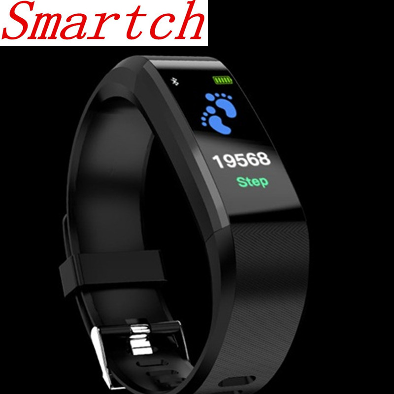 Smartch Id115Hr Plus Good Bracelet Sports activities Wristband With Coronary heart Charge Monitor Health Tracker Band Watch For Xiaomi Telephone Pk S2