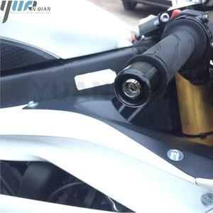Image 3 - Universal Motorcycle 22mm 7/8 CNC Aluminum Handle Bar End Handlebar Grips Cap For KTM 390 Duke/RC390/DUKE250 690 Duke R 14 16