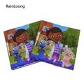 [RainLoong] Doc Mcstuffins Printed Napkin Event & Party Supplies Tissue Decoupage Servilleta For Kids 33cm*33cm 20pcs/pack/lot