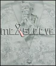 Tuxedo Waistcoat Vest Men white fashion pattern vest with shine flower