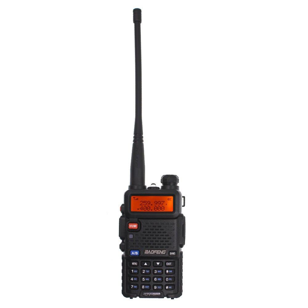 Baofeng New UV-5R Tri-band 136-174MHz 220-260MHz 400-520MHz  Amateur Radio Dual Display Upgraded UV 5R Two Way Radio BF-R3