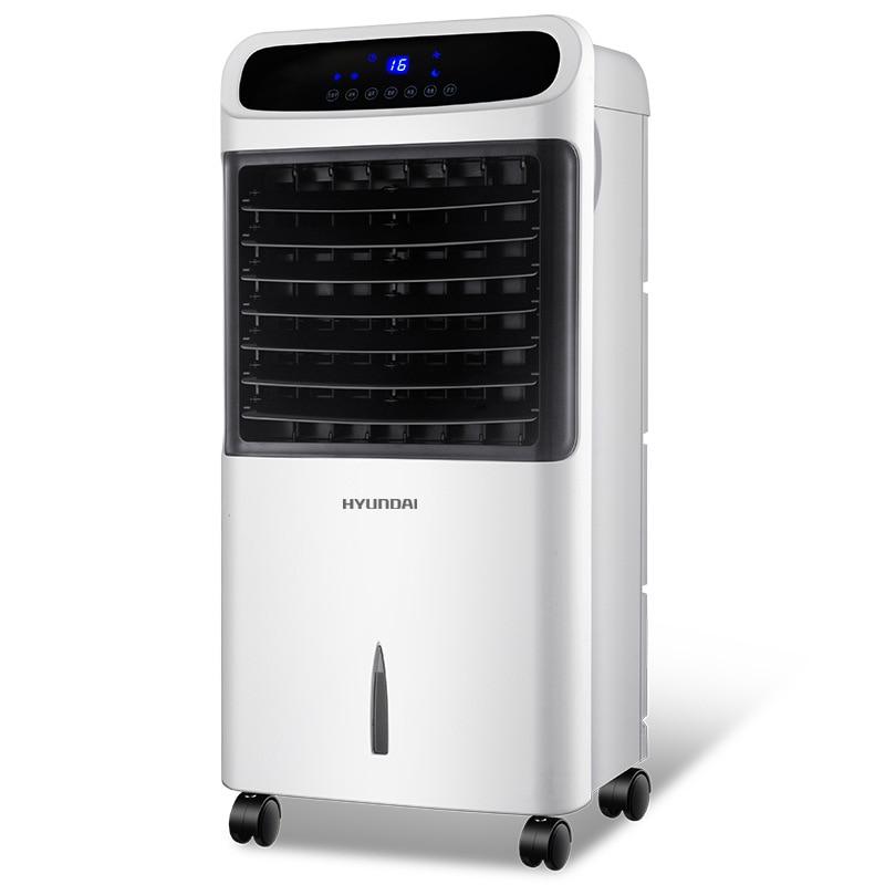 Hyundai Warm Air Conditioning Fan Electric Fan Household Cooling Fan Home Air Conditioning Fan Air Conditioner Mini Portable