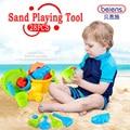 28 pçs/set alta qualidade PP plástico areia ferramenta de jogo crianças brinquedos de praia brinquedos de banho para 3 crianças brinquedos presentes