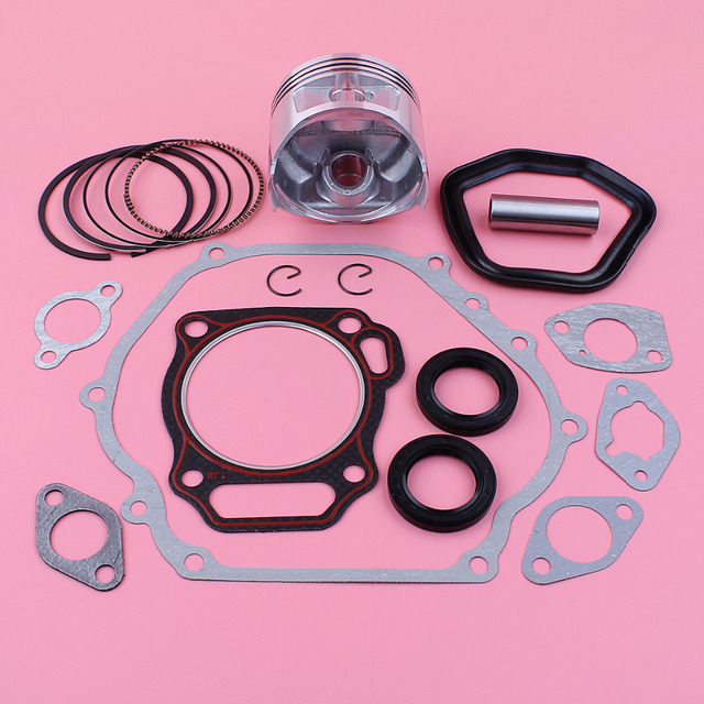 88mm Piston Pin Ring Circlip Oil Seal Full Gasket Set For Honda GX390 13HP GX 390 Chinese 188F Gas Engine Spare Part