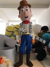 Sherif Woody Mascot Cartoon Character Jack Cosplay Costumes Cowboy Theme Mascotte Carnival Costume Adult