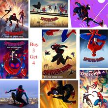 Poster Spider-Man: Into the Spider-Verse Home Decoration High Definition Wall Stickers Art Brand