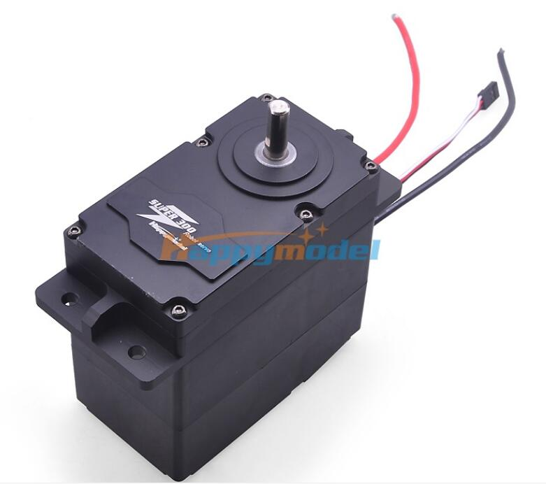 SUPER 300 Super300 High Torque Metal Servo 12 24V 300kg.cm 0.5S/60 Degree BEC 5V for DIY Large Robot Arm F18591/92SUPER 300 Super300 High Torque Metal Servo 12 24V 300kg.cm 0.5S/60 Degree BEC 5V for DIY Large Robot Arm F18591/92