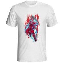 Super Saiyan God Blue With Ten Times Kaiohken T Shirt Design T-shirt Style Cool Fashion Casual Novelty Tshirt Top Tee lakme k style top ten style care balm