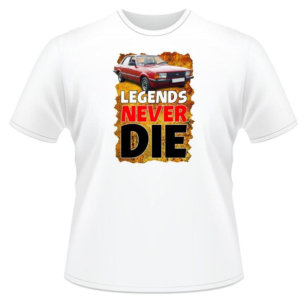 2019 Nieuwe Casual T-shirt Mens Grappige T-shirt, Legends Never Die Cortina, Ideaal Geschenk Of Kerstcadeau. Katoenen T-shirt In Pain