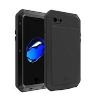 R Just I7 Three Proof Tank Series Metal Case 360 Protection Case Aluminum Shockproof Waterproof Phone