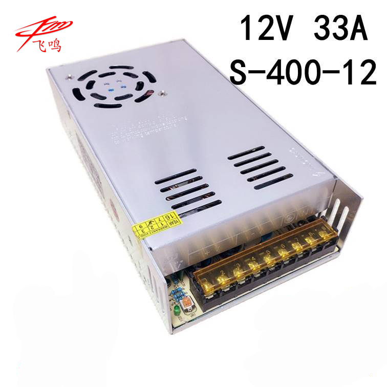 400W 12V 33A Single Output Switching power supply for LED SMPS <font><b>AC</b></font> to <font><b>DC</b></font> S-<font><b>400</b></font>-<font><b>12</b></font> image