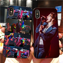 singer Harry styles 2019 Soft silicone TPU Case phone Cover For iPhone MAX XR XS X10 5 5S 5SE 6 6S 6 6SPlus 7 7 8 8Plus ufc conor mcgregor the king soft tpu silicone cover phone case for iphone 6splus 7plus 8plus se 5 5s 6 6s 7 8 max xr xs x10