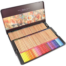 Check Price 72 Marco Renoir Colored Oil Colors Professional Pencils Art Drawing Painting Sketch Pen