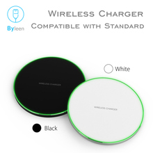 цена на 10W White Black Qi Wireless Fast Charger For iPhone X Xr X max 8 Plus Fast Charging Holder For Samsung S10 S8 Phone Fast Charger
