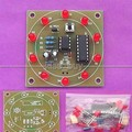 Kit de Aprendizaje Electrónico de La rueda de la fortuna suite DIY producido piezas electrónicas kit de entrenamiento