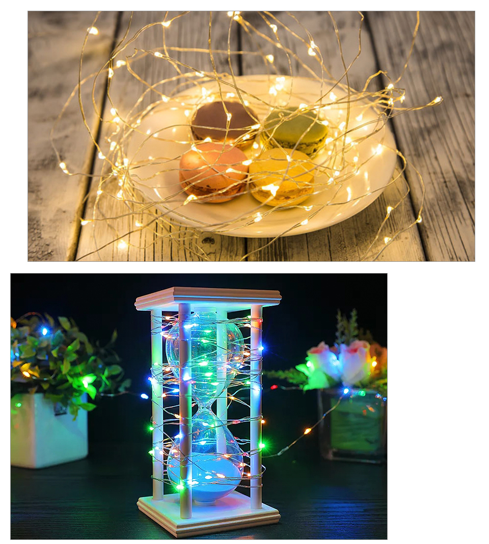 10M 20M Solar Power LED Garland Christmas Tree Fairy String Lights Chain Copper Wire Home Outdoor Christmas Holiday Decoration (15)