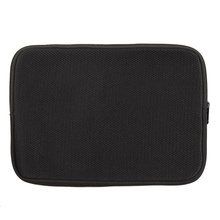 Waterproof Laptop Bag Case for Netbook Notebook 12 Inch Soft Sleeve Case Pouch Desktop Accessories Black SBR Material
