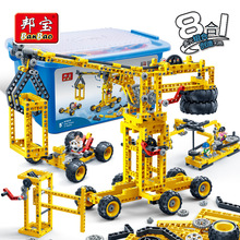 Building block set compatible with lego Application of electric energy Construction Brick Educational Hobbies Toys for Kids 001 машины tomy трактор john deere monster treads с большими колесами с подсветкой