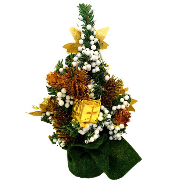 uesh home decor desk small mini christmas tree office counter school shop stand golden in tree toppers from home garden on aliexpresscom alibaba group