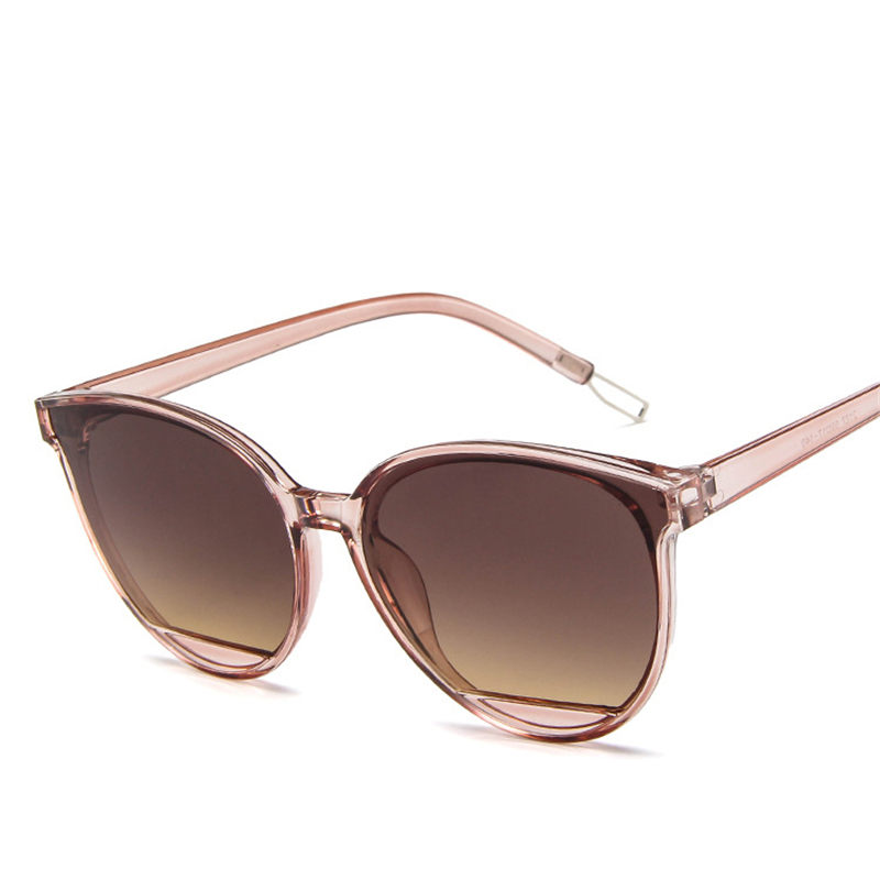2019 New Cat Eye Women Sunglasses Tinted Color Lens Men Vintage Shaped Sun Glasses Female Eyewear Blue Sunglasses Brand Designer in Women 39 s Sunglasses from Apparel Accessories