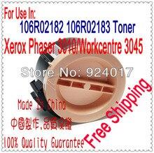 Compatible De Toner Pour Xerox Phaser 3010 3040 3045 Imprimante, 106R02182 106R02183 Toner Pour Xerox Workcentre 3045 3045B Imprimante Laser