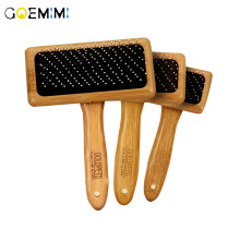 Combs Dog Hair Remover Cat Brush Grooming Tools Wood Material Pet Trimmer for Supply