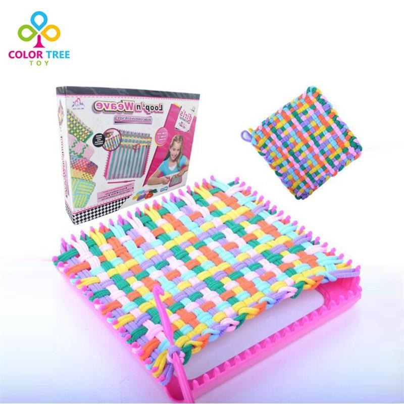 Knitting Machine Diy : Knitting machine diy pretend play handmade toys good for