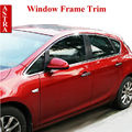 Vauxhall Opel Astra J Stainless Steel Window Frame Trim Sill Cover Frame for 2010- 2014 Astra Car Styling Accessories 12pcs/set