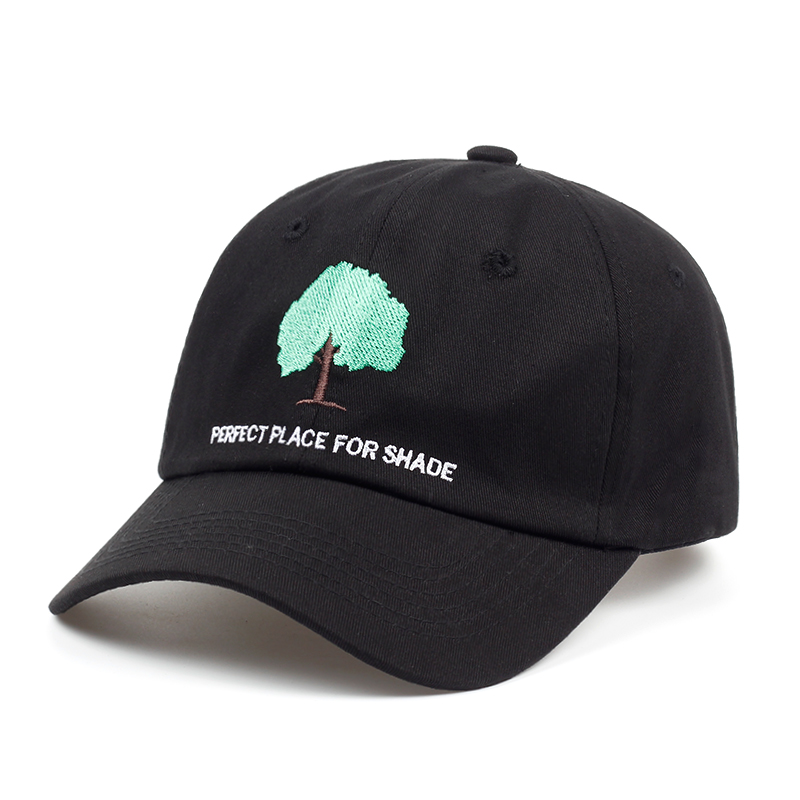2018 new Embroidery Trees Curved Dad Hats Take A Trip Baseball Cap Coconut Trees Hat Strapback Adjustable Hip Hop Cap wholesale 2017 new men women good vibes dad hat embroidered baseball cap curved bill 100