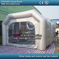 Inflatable spray booth inflatable car paint booth tent inflatable spray cabin inflatable vehicle spray paint cabin booth room