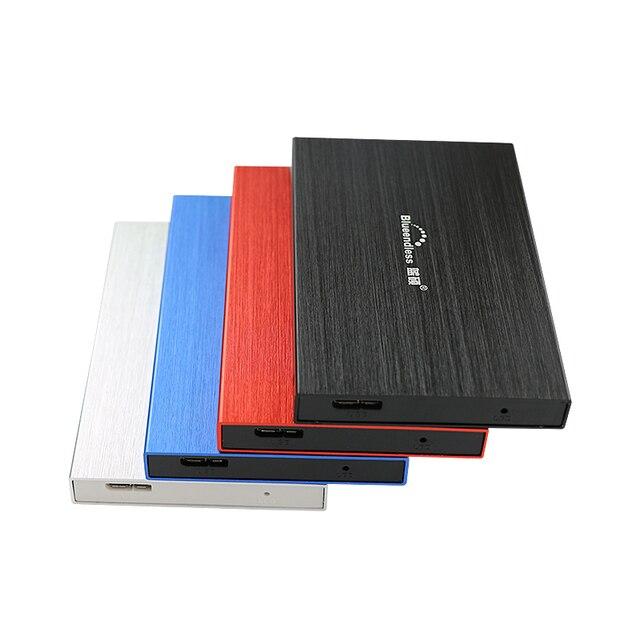 """Алюминий корпус USB 3.0 на SATA 2.5 """"жесткий диск Дело Высокая скорость 5 Гбит HDD хранения внешний диск коробка для планшет/ноутбук/Desktop"""