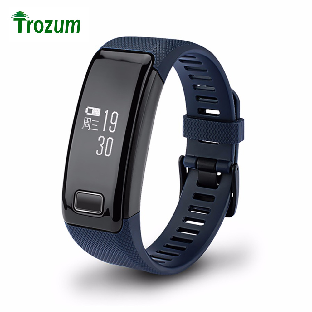 TROZUM Smart Bracelet C9 Bluetooth 4 0 Wristband Pedometer Fitness Tracker Heart Rate Monitor Call Reminder