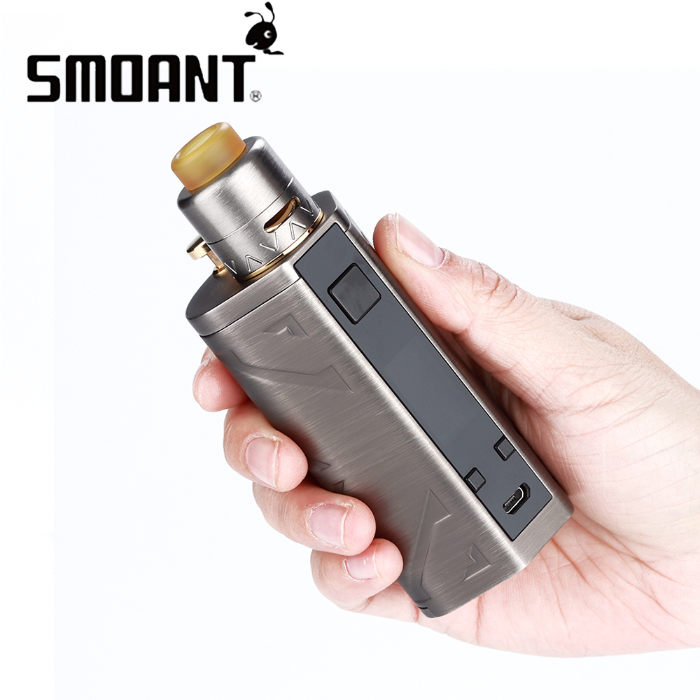 NEW Smoant Battlestar 200W Max Output TC Squonker Kit with Deck for Dual Coils 7ml Capacity