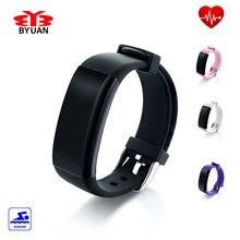 ในสต็อก! DFit H Eart Rate Monitor S Martbandกันน้ำว่ายน้ำสมาร์ทวงสร้อยข้อมือสุขภาพการออกกำลังกายติดตามสำหรับA NdroidและiOSที่ดีที่สุด