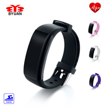 In Stock! DFit Heart Rate Monitor Smartband Waterproof Swim Smart Band Bracelet Health Fitness Tracker for Android and iOS Best