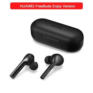 Image 1 - Originele Huawei Freebuds Lite Draadloze Koptelefoon In Ear Dubbele Klik Controle Met Opladen Doos IP54 Huawei Freebuds Genieten