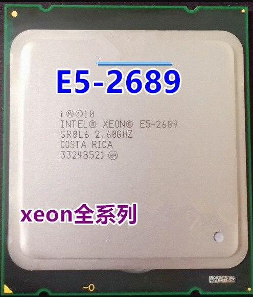 Intel//Xeon E5-2689 CPU 8 Core 16 Thread 2.6G Official Version